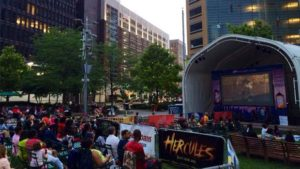 Campus Martius Movie Nights @ Campus Martius