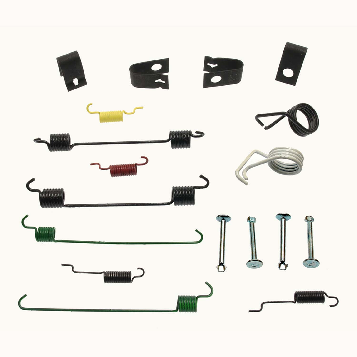 Rear Carlson 17370 Drum Brake Hardware Kit