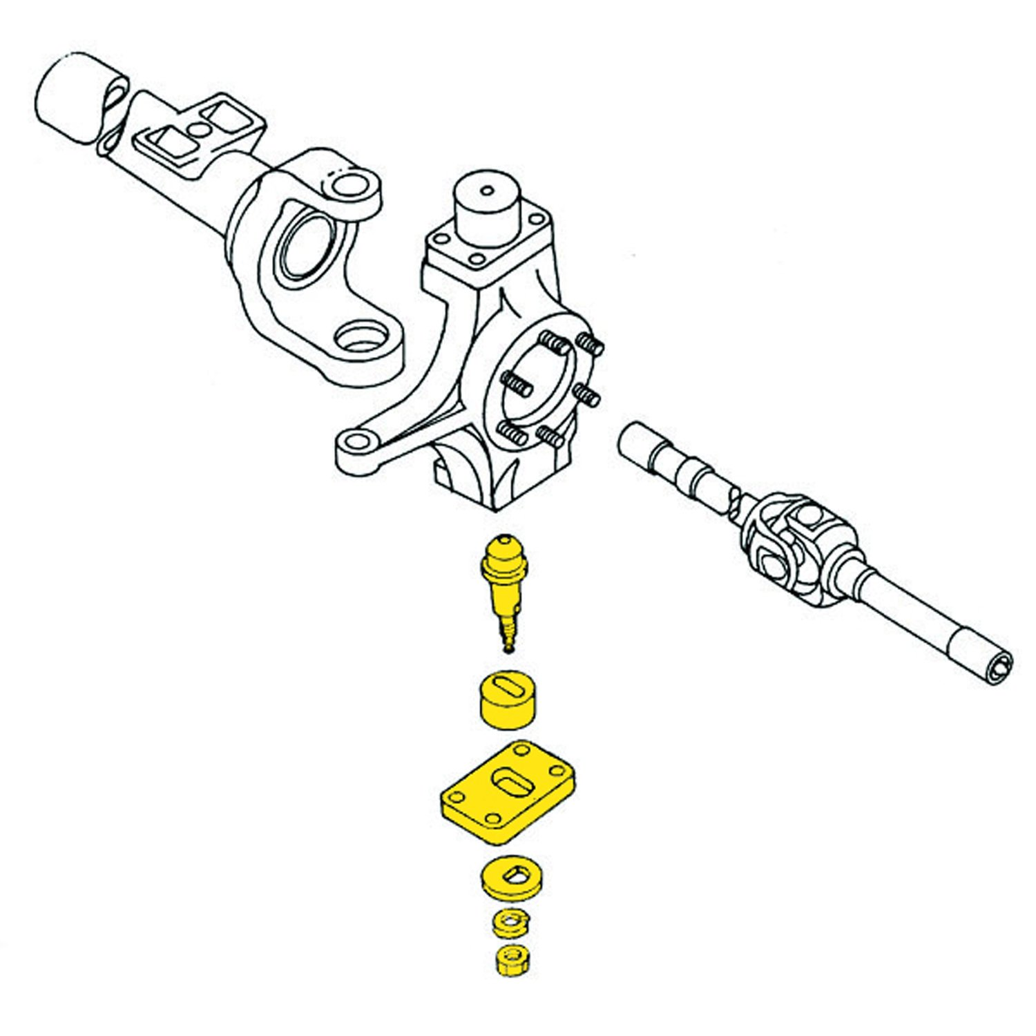 Allignment Camber King Pin-Alignment Camber Kit Front Moog K992