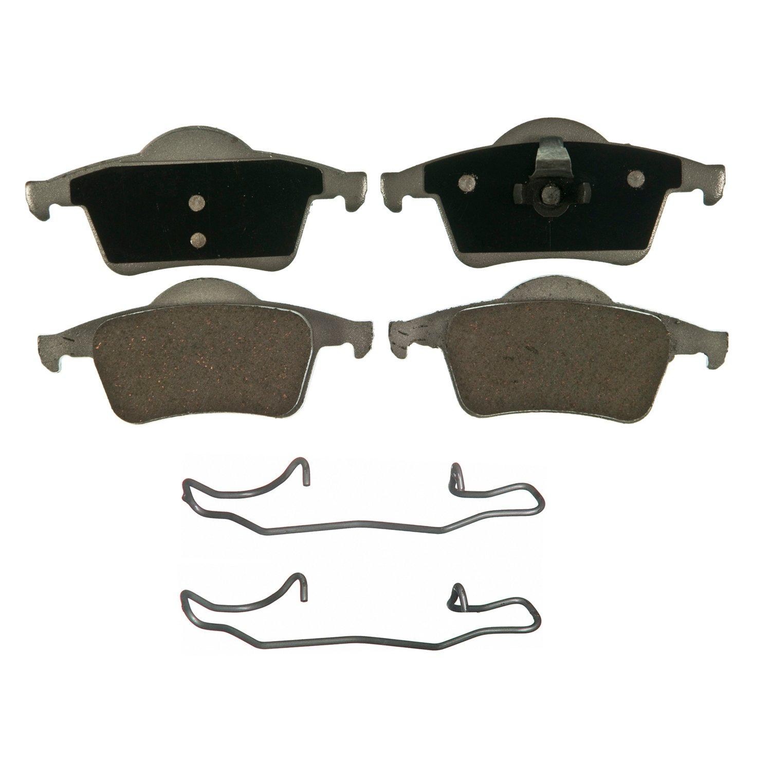 For 1999-2009 Volvo S80 S60 V70 XC70 Front  Semi-Metallic Brake Pads