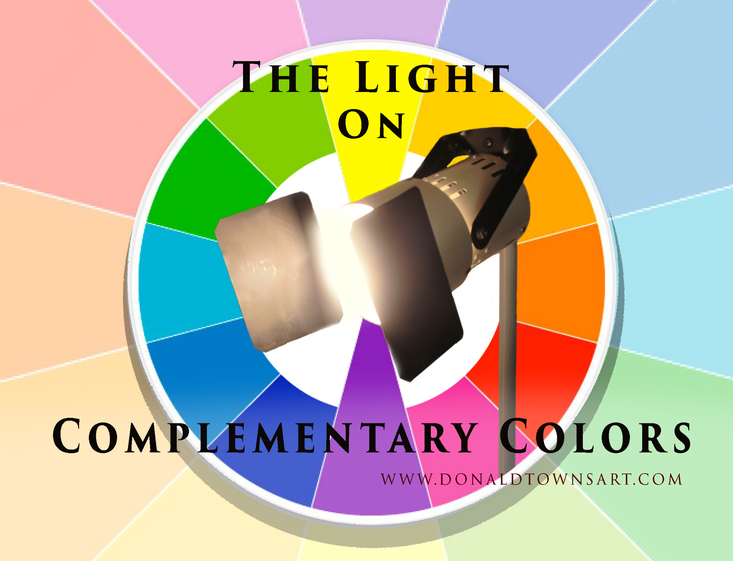 complimentary color wheel and light