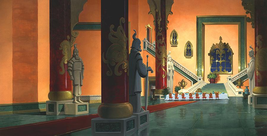 Palace Interior – Rich Animation