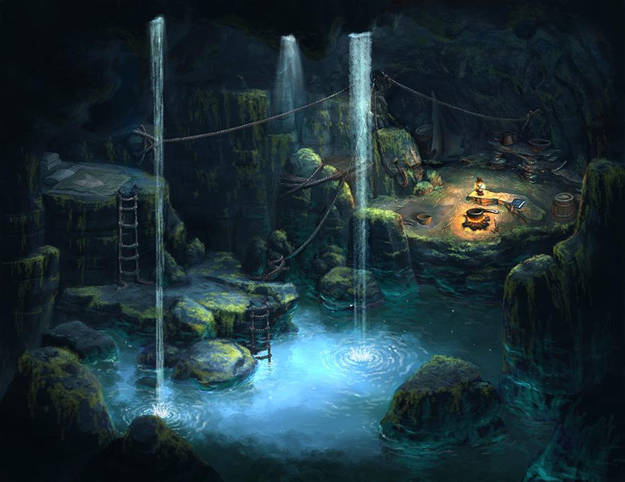 Underwater Cove – RichCrest Animation