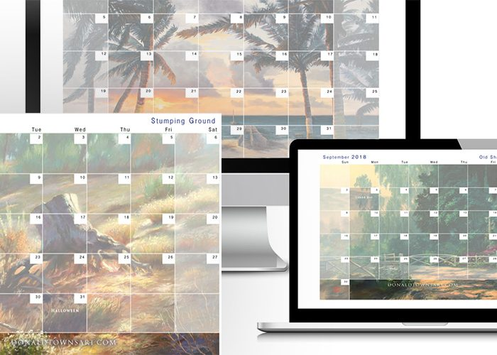 Free Downloadable Calendar – August 2018