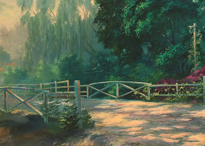 Behind The Painting – Old Shadow Road