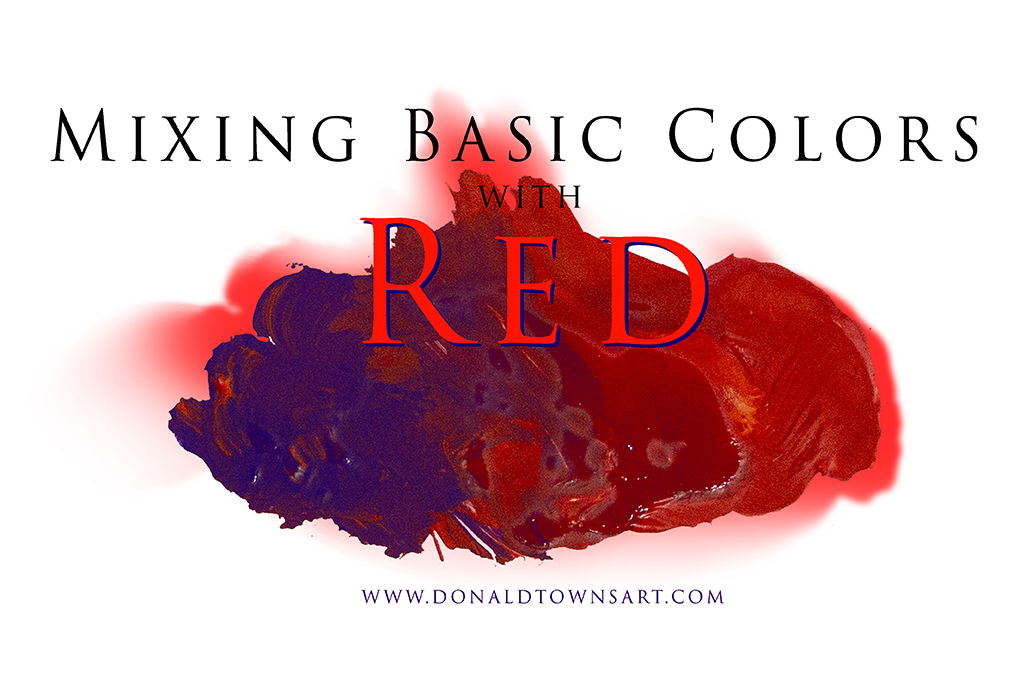 Red and Violet Color Mixing