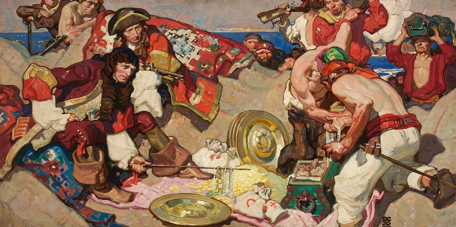 Dean Cornwell Painting