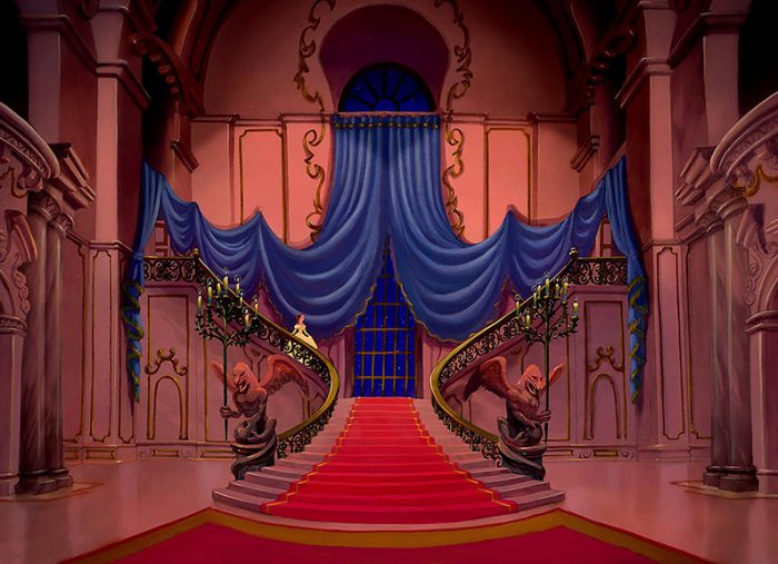 Beauty & The Beast, Stairs – Walt Disney Company