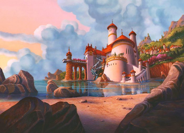 The Little Mermaid, Eric's Csatle – Walt Disney Company