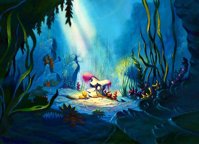 The Little Mermaid, Ariel's Rock – Walt Disney Company