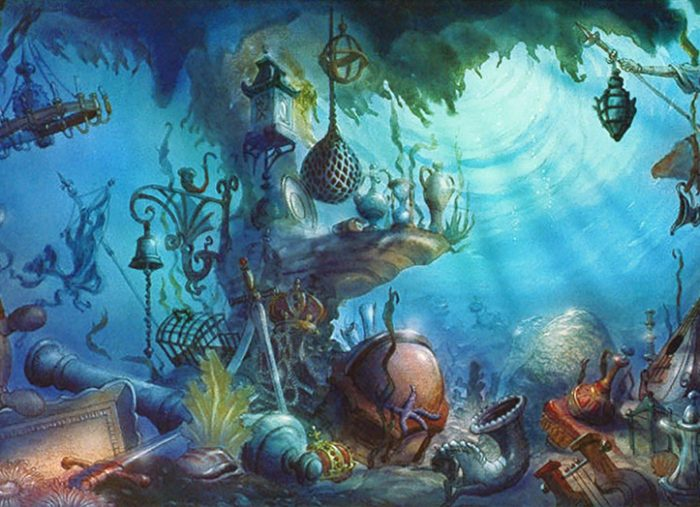 The Little Mermaid, Pre-Production Art – Walt Disney Company