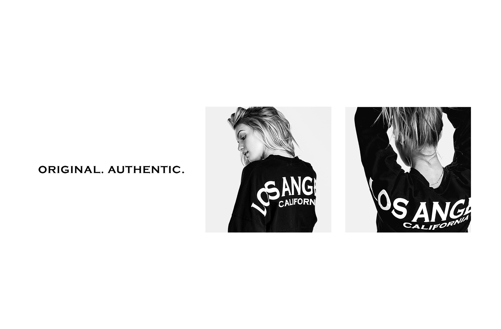 The Original. Authentic. Los Angeles Spirit Jersey® in black.