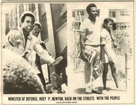 From an issue of The Black Panther newspaper