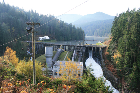 Elwha Dam, before deconstruction
