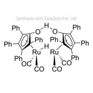 1-Hydroxytetraphenyl-cyclopentadienyl(tetraphenyl-2,4-cyclopentadien-1-one)-?-hydrotetracarbonyldiru