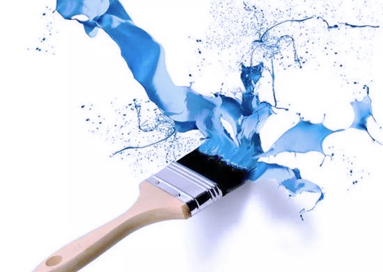 water-based paint
