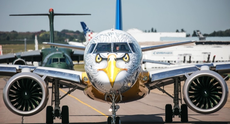 Aircraft Maker Embraer 'Goes Wild' with AkzoNobel's Aerospace Coatings