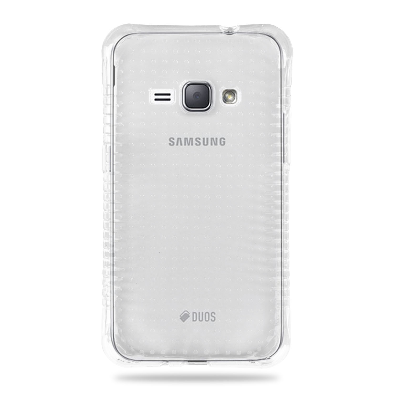 Samsung Galaxy J1 2016 Clear Shockproof Air Pocket Case / Anti-Slip Grip iPhone Shockproof Air Pocket / Side Anti-Slip Grip