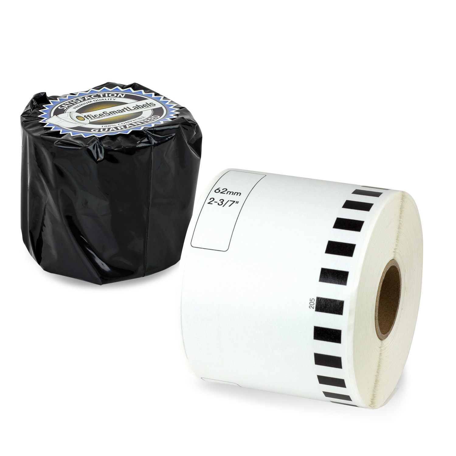 "Brother Compatible DK-2205 Continuous Labels (2-3/7"" x 100 ft) - Without Cartridge 