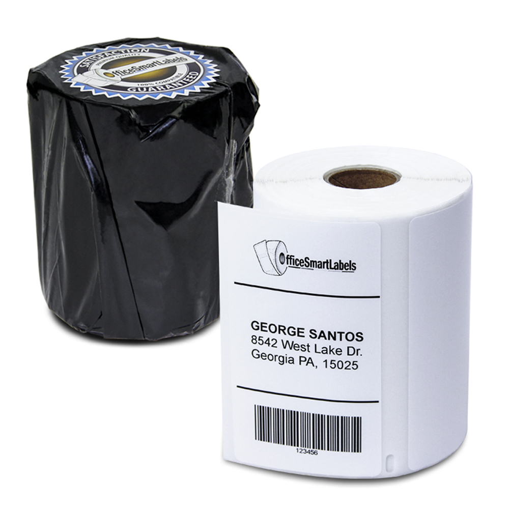 "Dymo Compatible 1785378 LabelWriter 4XL High Capacity Shipping Labels 4"" x 2-5/6"" (1 Roll - 575 Labels Per Roll)"