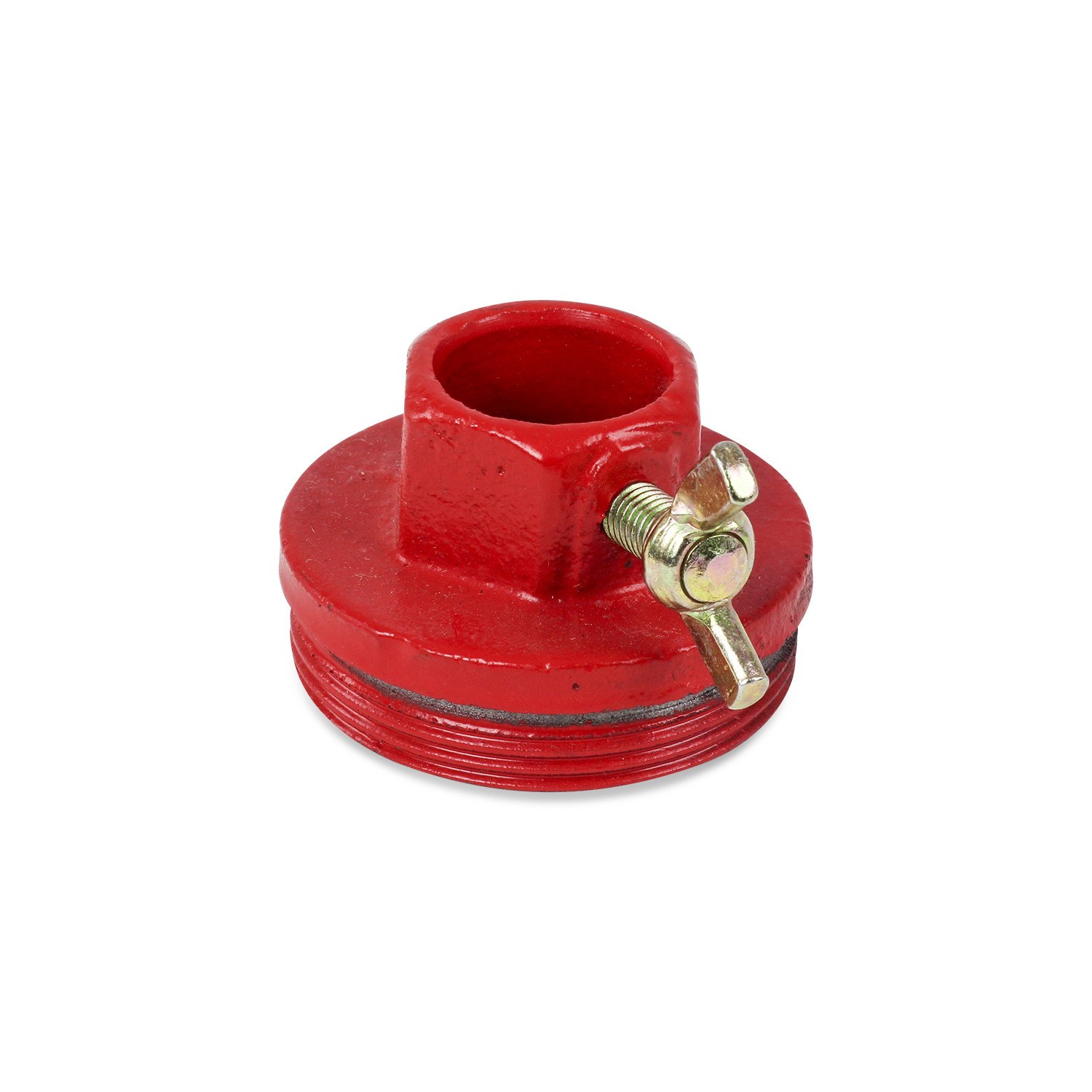 TERAPUMP - TRWS25-BA Red 2 Bung Adaptor for TRWS25 Rotary Hand Barrel Pump