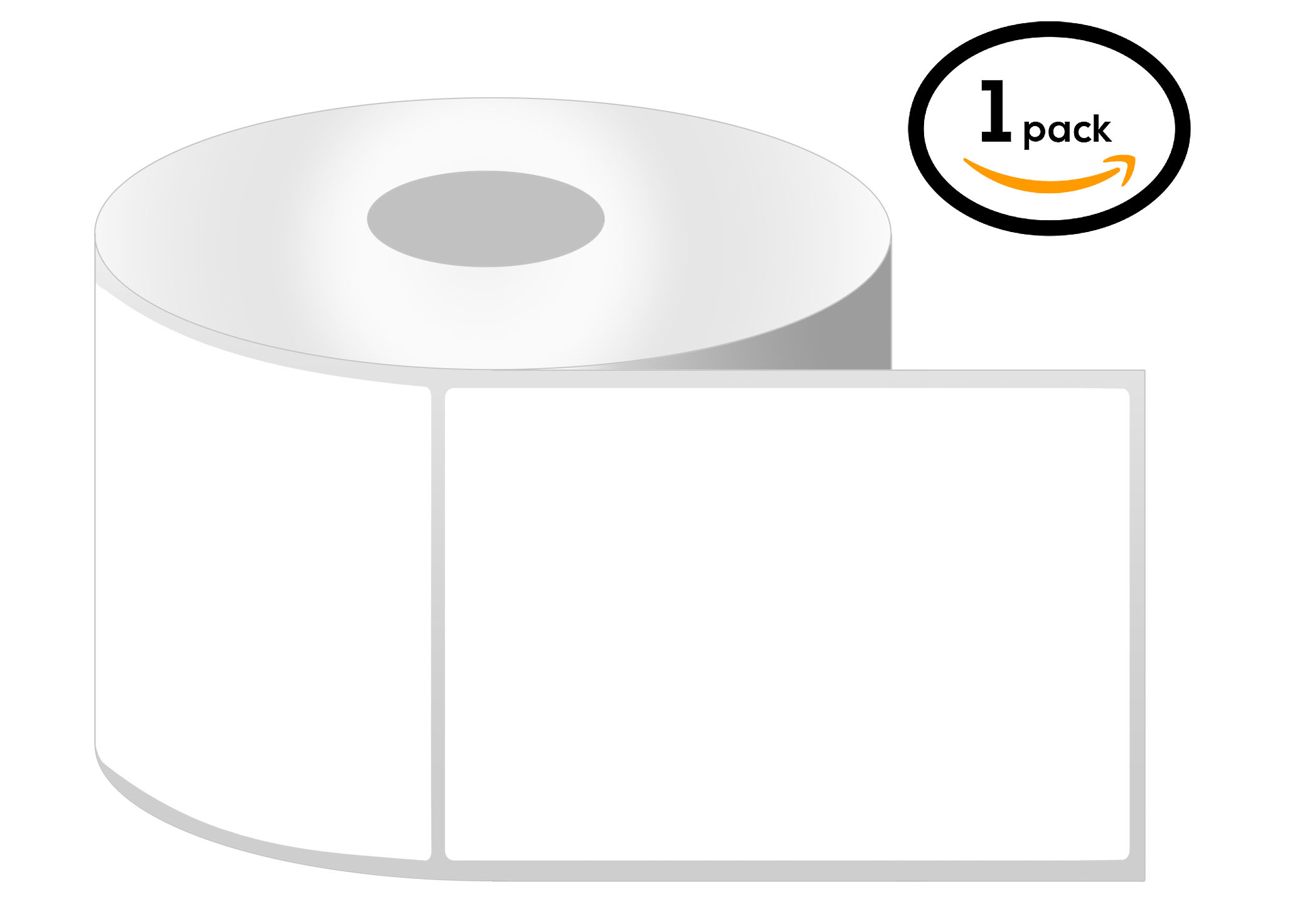 1 Inch Core - 2.25 x 3 Zebra Compatible Direct Thermal Labels 1 Roll