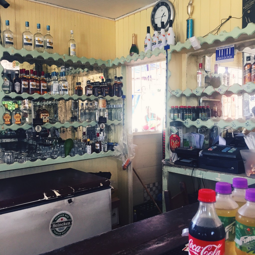 One of the island's Rum Shops