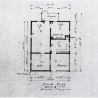"Floor plan of ""the soldier's house"""