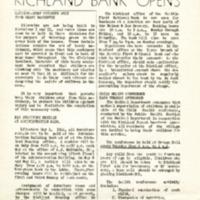 Richland Weekly Bulletin, Vol. 1, No. 21.