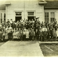 Clear Lake Lumber Company school<br />