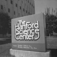 Hanford Science Center Sign<br />