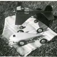 Model Plane and Car<br />