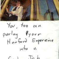 You, Too Can Parlay Your Hanford Experience into a Good Job.  Apply soon!
