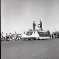Parade--Military Memorial Float