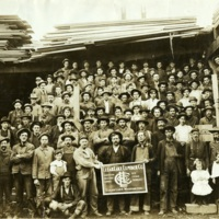 Clear Lake Lumber Company workers<br />