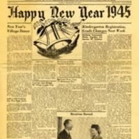 Sage Sentinel December 29, 1944