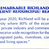 Remarkable Richland! Resilient! Resourceful! Ready!