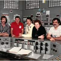 N Reactor Workers in Control Room