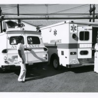 Two Women with Two Ambulances<br />