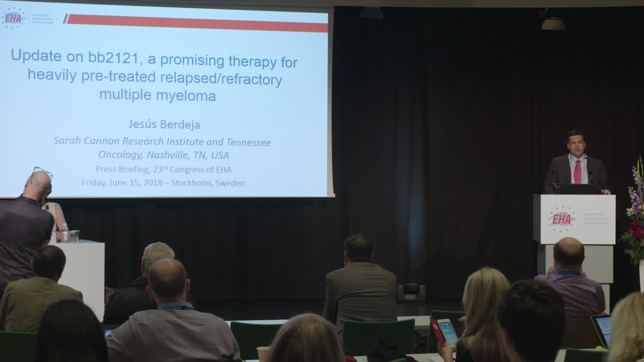 Update on bb2121 CAR T-cell product for MM from EHA 2018