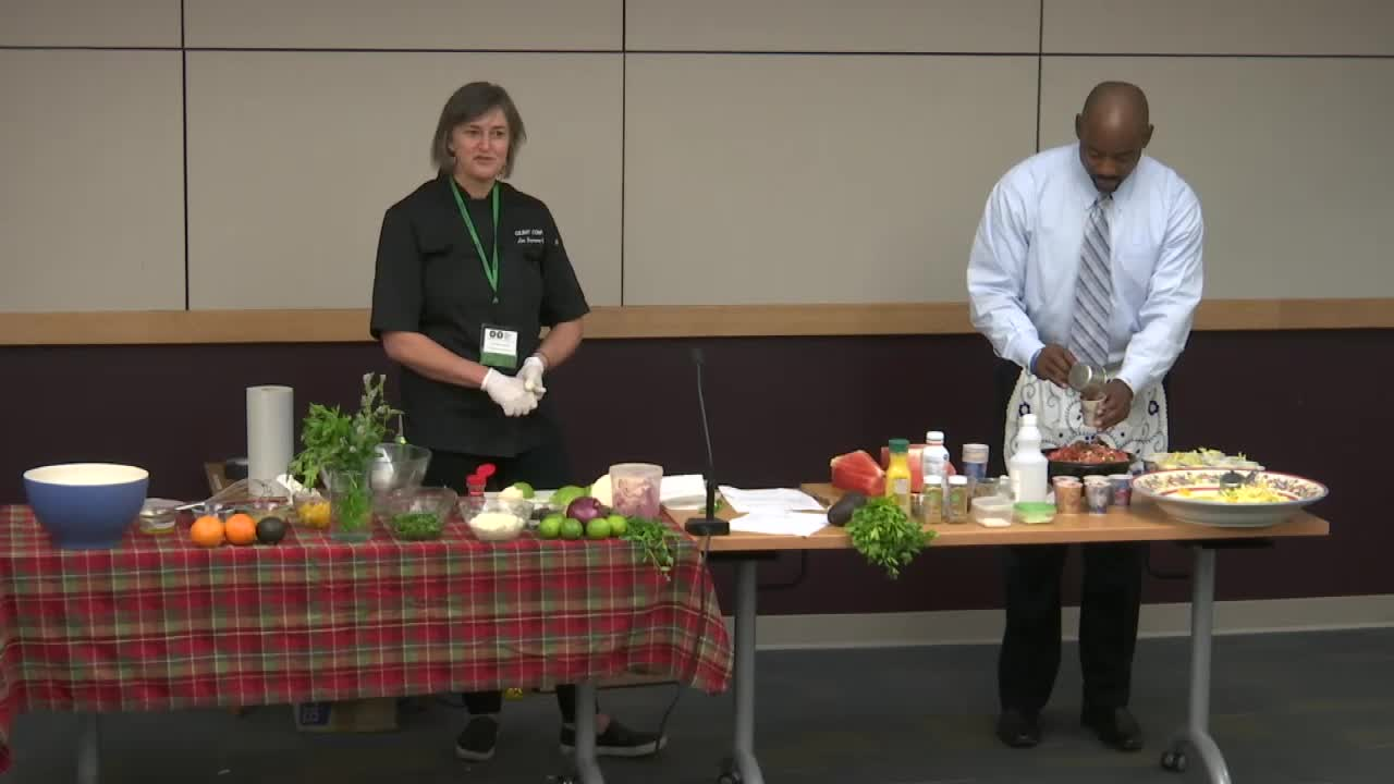 Targeted Therapies in Lung Cancer Patient Forum: Cancer Kitchen with Lisa Wingrove, RD, CSO and Chris Draft