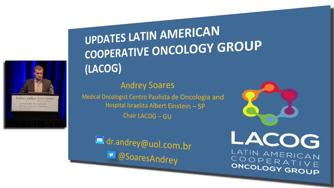 UPDATES  LATIN  AMERICAN  COOPERATIVE  ONCOLOGY  GROUP  (LACOG)