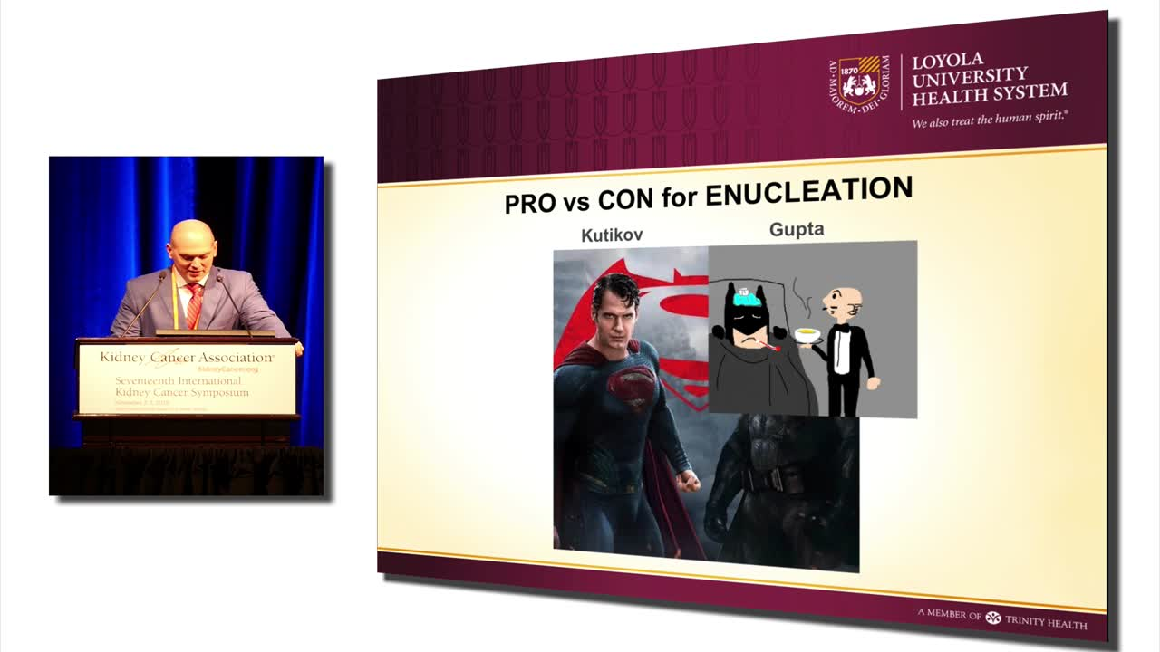 Pro vs Con for Enucleation
