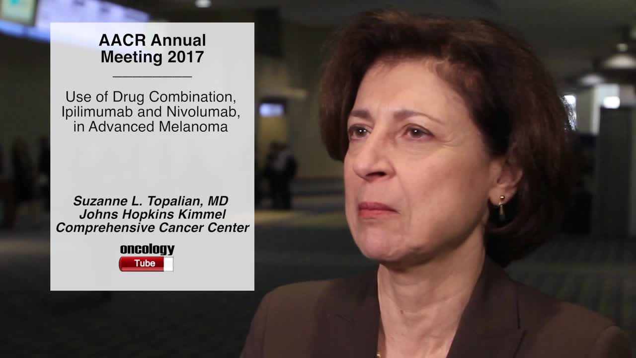 Use of Drug Combination, Ipilimumab and Nivolumab, in Advanced Melanoma