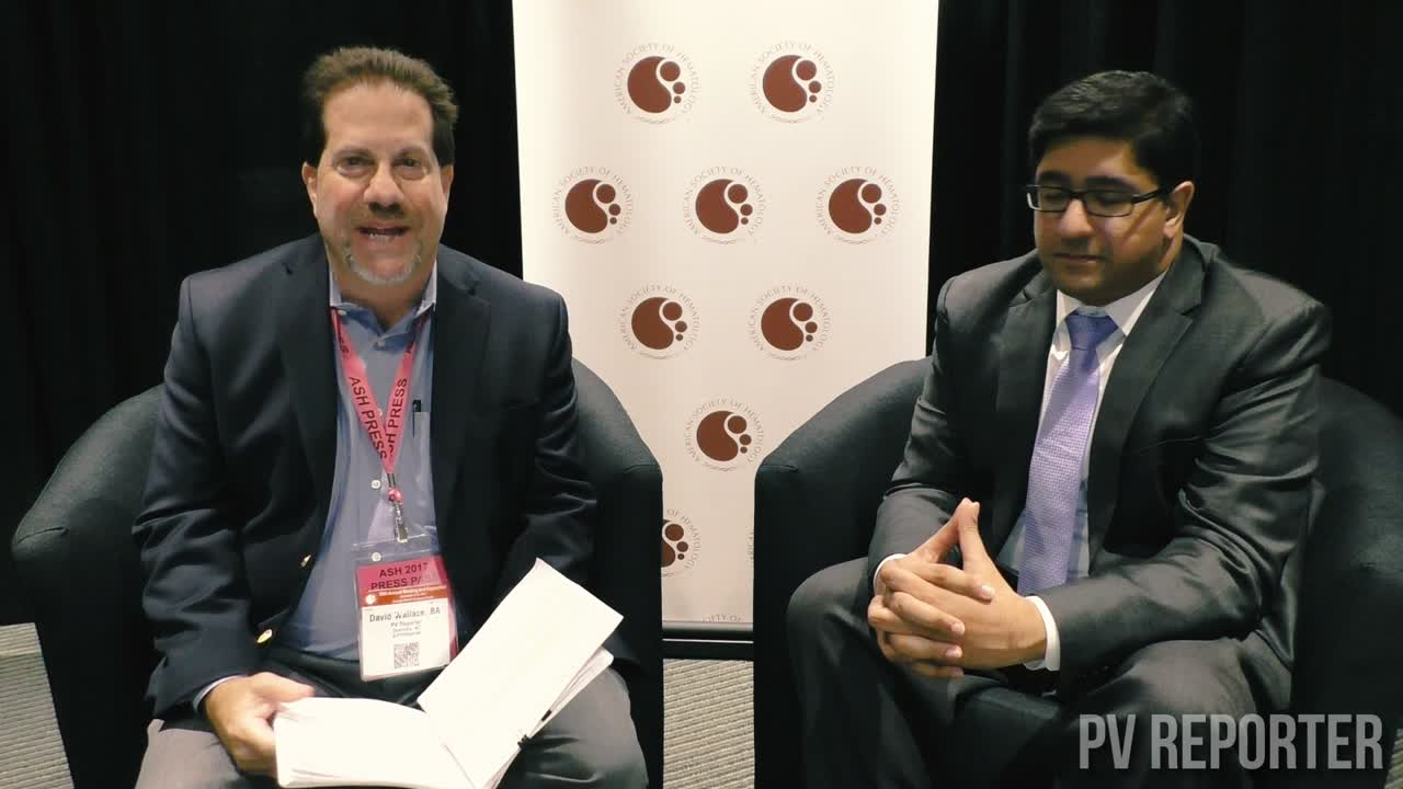 PV Reporter interviews Dr. Raajit Rampal at ASH 2017