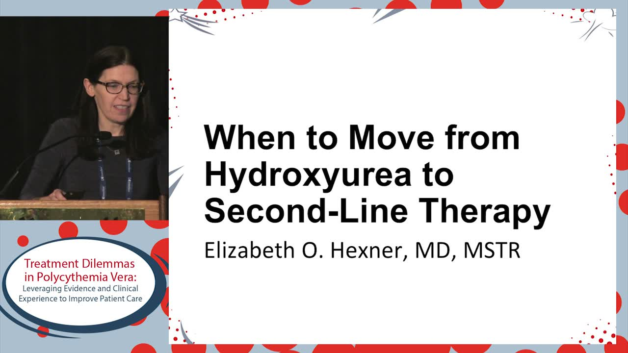 When to move from hydroxyurea to second-line therapy