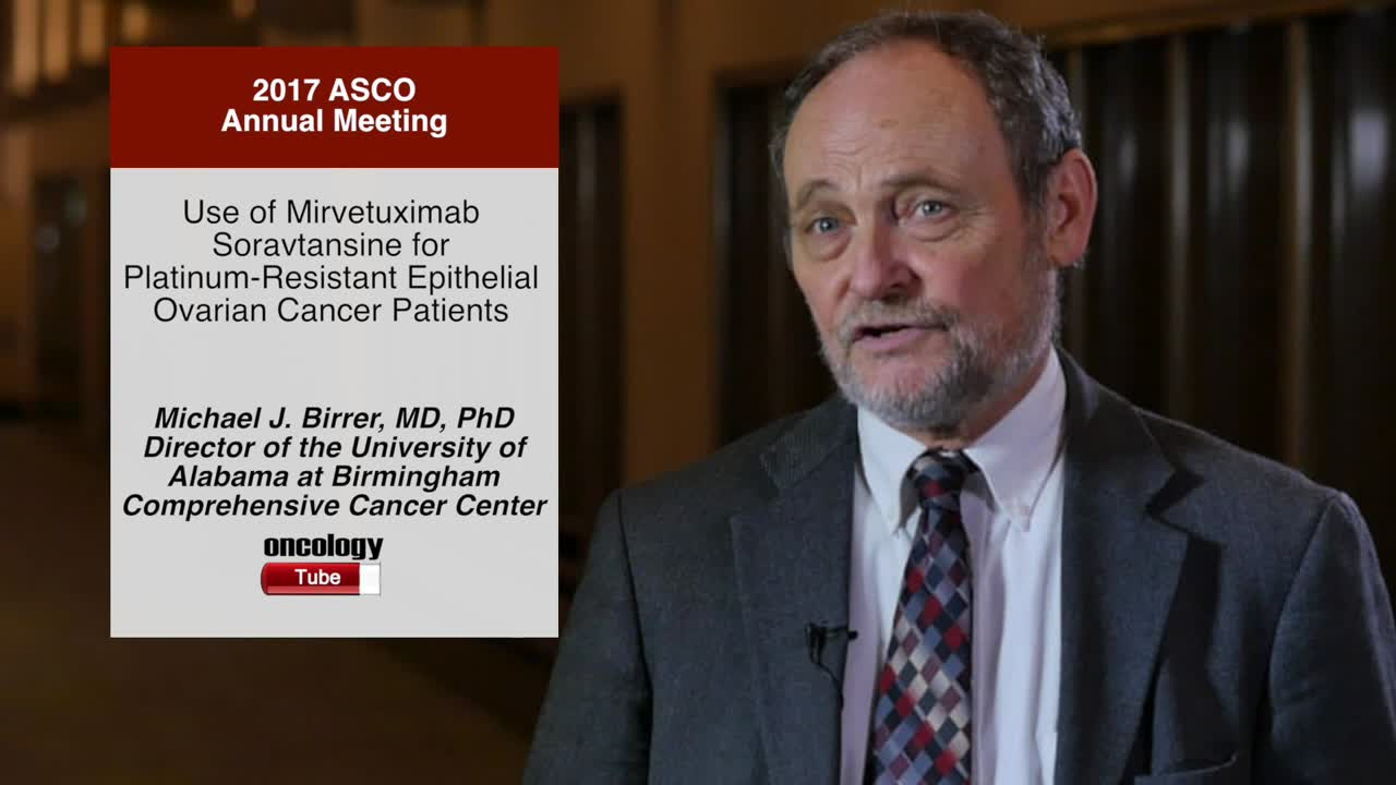 Use of Mirvetuximab Soravtansine for Platinum-Resistant Epithelial Ovarian Cancer Patients