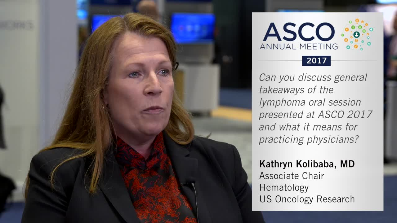 ASCO 2017: Key takeaways for lymphoma research