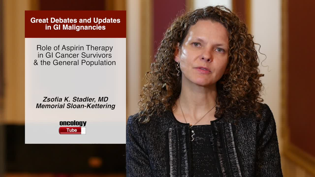 Role of Aspirin Therapy in GI Cancer Survivors & the General Population