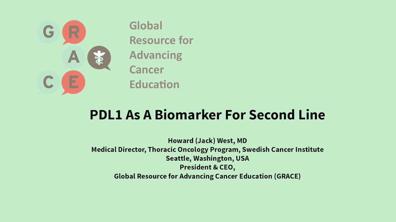 PDL1 As A Biomarker For Second Line [720p]